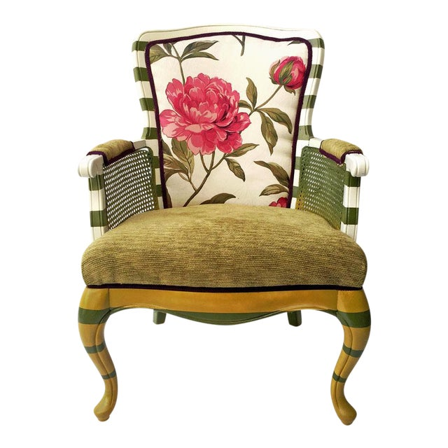 Floral Peony Chair - Image 1 of 5