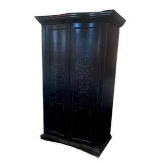 Wooden Armoire Bar