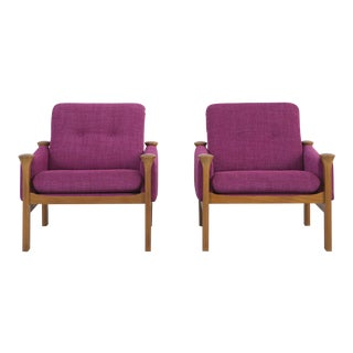 Set of Poul Cadovius Lounge Chairs