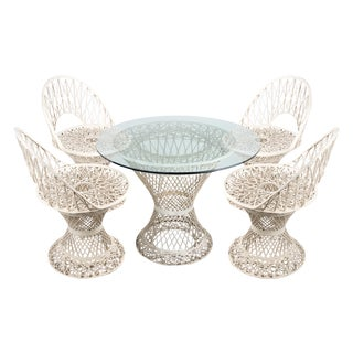 Russell Woodard Outdoor Dining Set