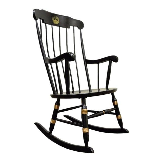 Vintage Sigill College University Nichols & Stone Windsor Rocking Chair - Image 1 of 11