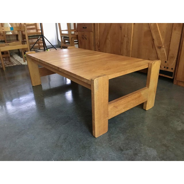 Danish Modern Wooden Coffee Table
