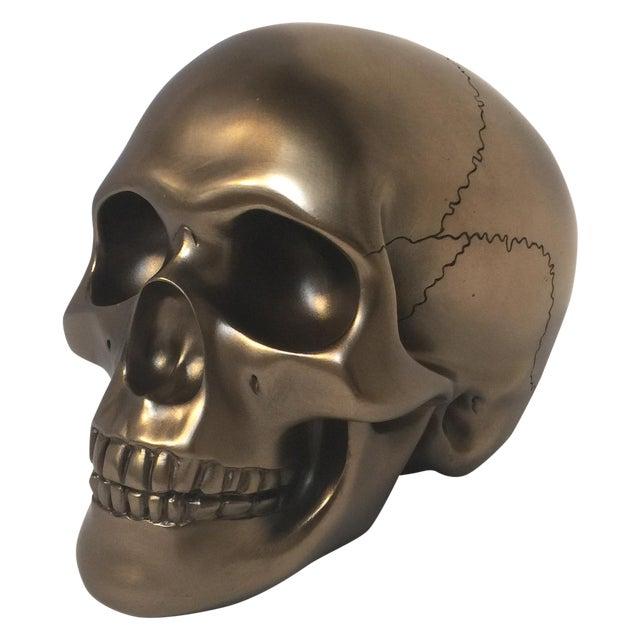 Large Bronze Skull - Image 1 of 8