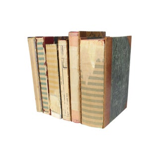 Deconstructed Antique Book - Set of 6
