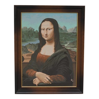 Mona Lisa Paint-By-Number