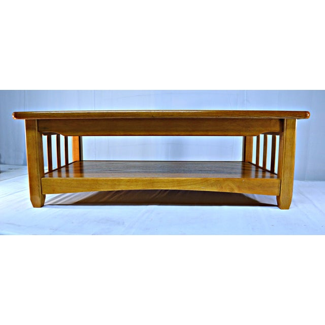 Solid Wood Country Style Coffee Table