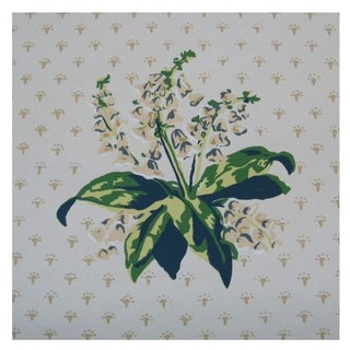 Vintage Wallpaper Roll - The Twigs Floral