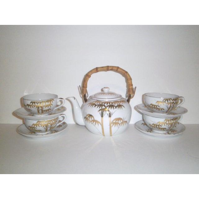 1940's Japanese Lithophane Tea Set - Image 2 of 11
