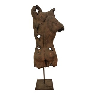 1970's Male Torso/Trunk Sculpture , by Hindi
