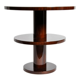 Art Deco Style Round Table