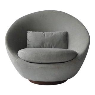 Milo Baughman Swivel Lounge Chair