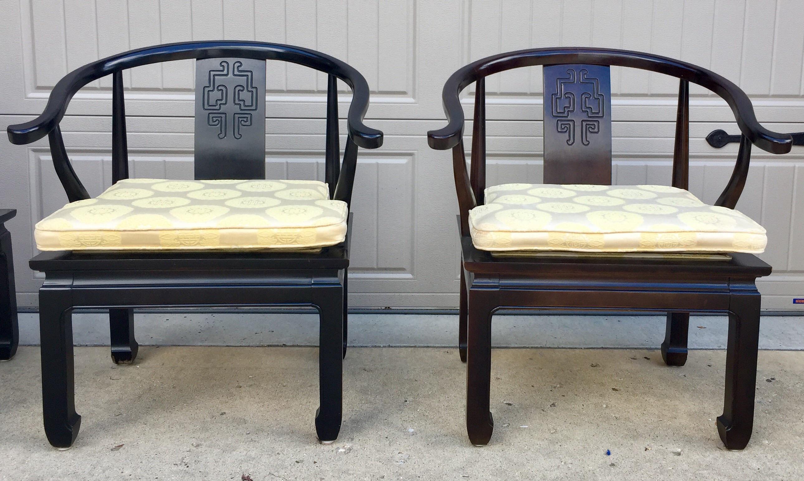 Vintage Century Furniture Asian Chinoiserie Chairs a Pair Chairish