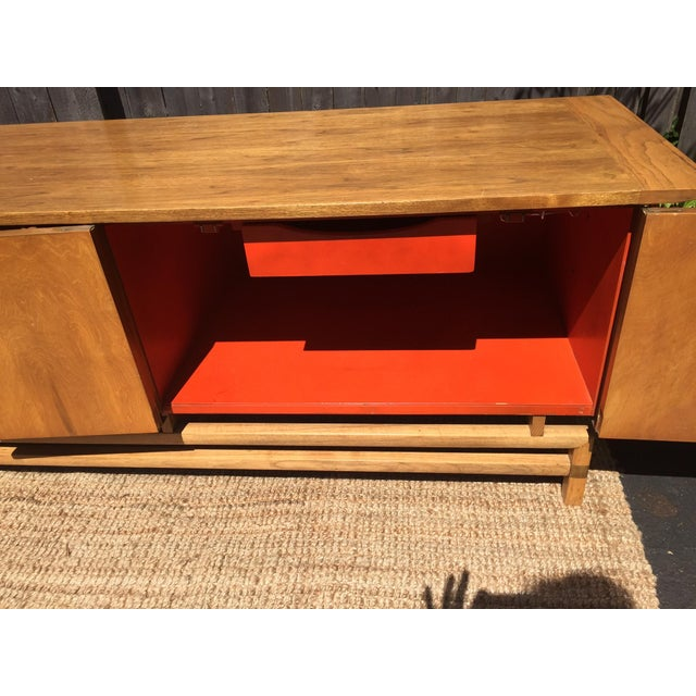 Vintage Mid-Century Chinoiserie Buffet - Image 5 of 6