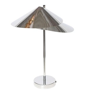 Curtis Jere Double-Shade Desk Lamp