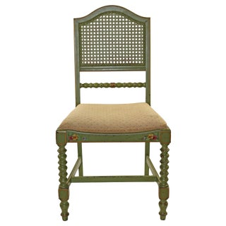 Antique Custom Painted Stihl Accent Chair