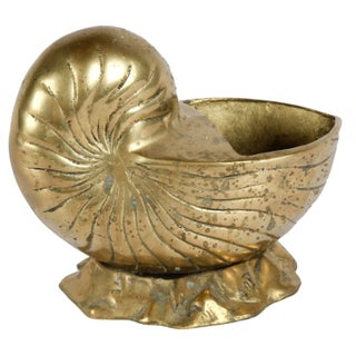 Brass Nautilus Shell