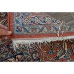 "Image of Vintage Persian Sarouk Rug - 6'11"" X 10'11"""