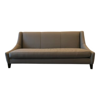 Mitchell Gold Bob Williams Modern Gray Sofa