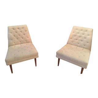 Jonathan Adler Low Chairs - A Pair
