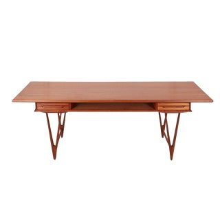 Teak Coffee Table by E.W. Bach