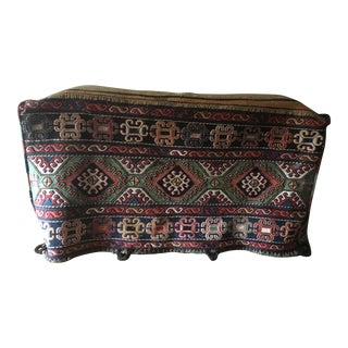 Antique Mafrash Sumak Carpet Cargo Bag