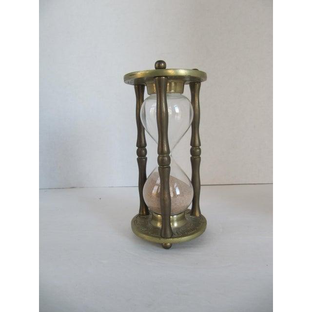 Vintage Brass Zodiac Hour Glass - Image 2 of 6
