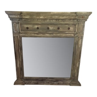 Rustic Shabby Mirror by TG Design