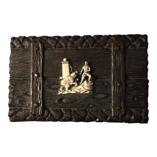 Bavarian Carved Wooden Box