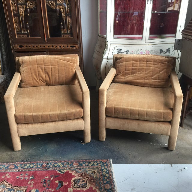 Image of Henredon Upholstered Chairs - A Pair
