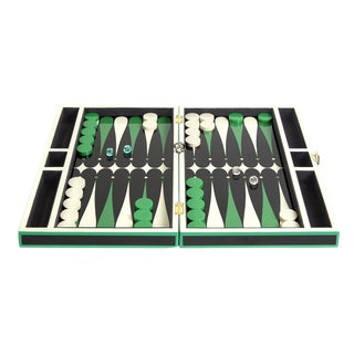 Jonathan Adler Lacquer Backgammon Set in Emerald