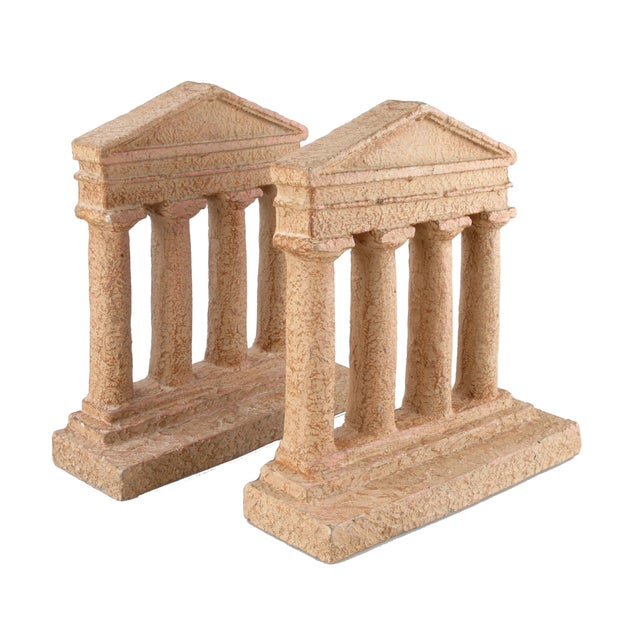 Terracotta Greek Acropolis Style Bookends - A Pair - Image 6 of 10