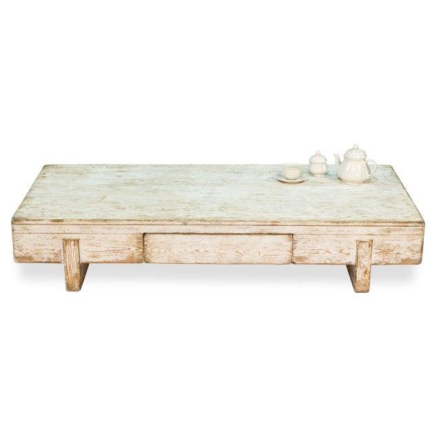 Sarreid Ltd Perth White Coffee Table - Image 6 of 8