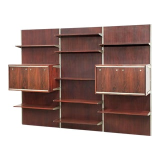 Stunning Wall Unit Attributed to Kai Kristiansen