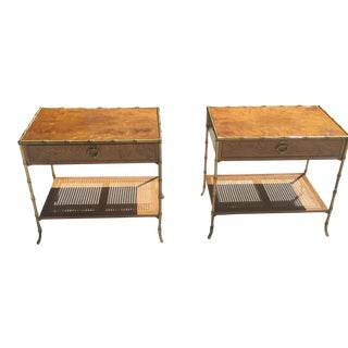 Milling Road Baker Nightstands/Side Tables - Pair