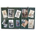 Image of Antique Photo & Memorabilia Display Board