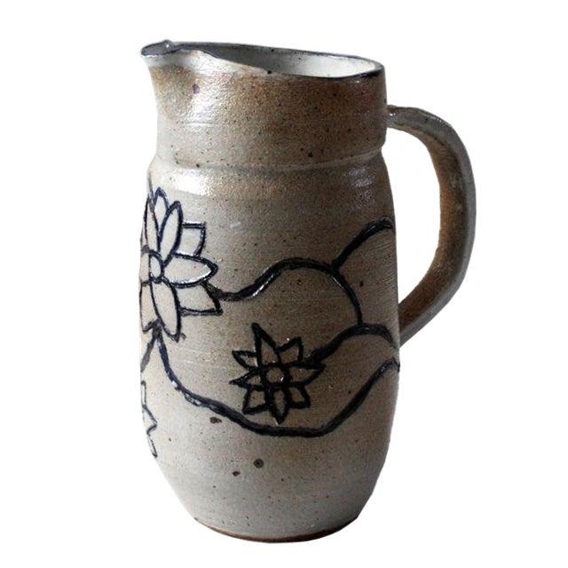 Studio Pottery Pitcher - Image 1 of 8