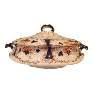 Imari Style Covered Tureen