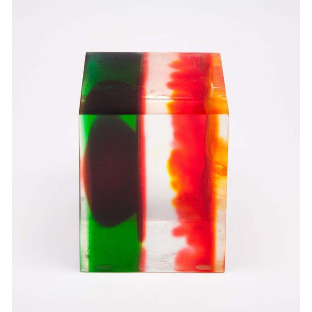 Acrylic Rainbow Sculpture by Dennis Byng - Image 4 of 4