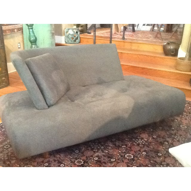 Image of Gray Chaise Lounge