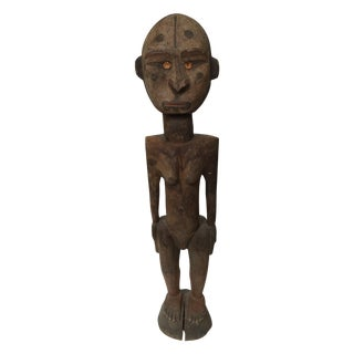 Wooden Female Figure, Sepik River Papua New Guinea