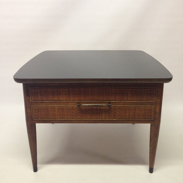 Martinsville Coffee Table With Basket Weave Cane Chairish