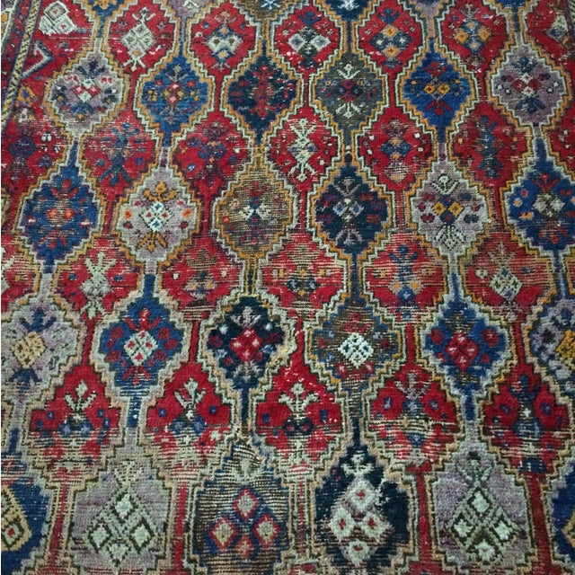 Vintage Turkish Rug - 4′11″ × 6′1″ - Image 5 of 9