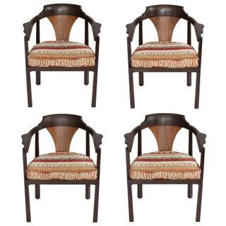 Edward Wormley for Dunbar Horseshoe Armchairs - Set of 4