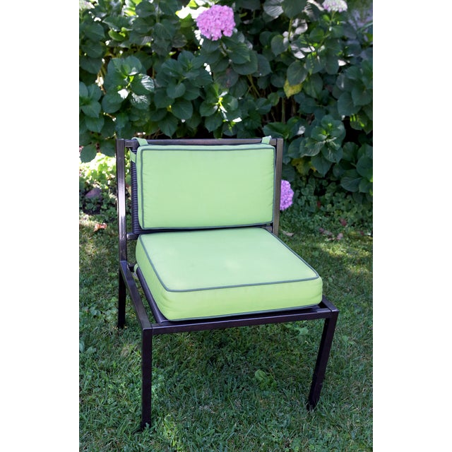 Van Keppel Green Patio Chairs - Set of 4 - Image 5 of 9