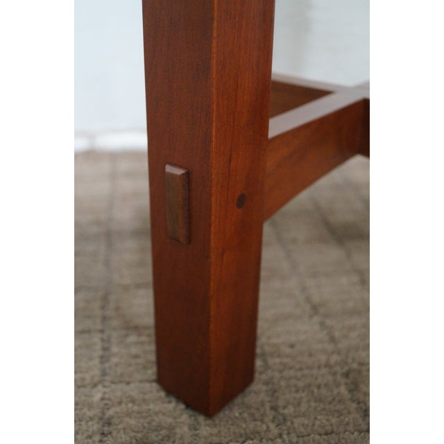 Stickley Mission Style Cherry Side Tables - B Pair - Image 4 of 10