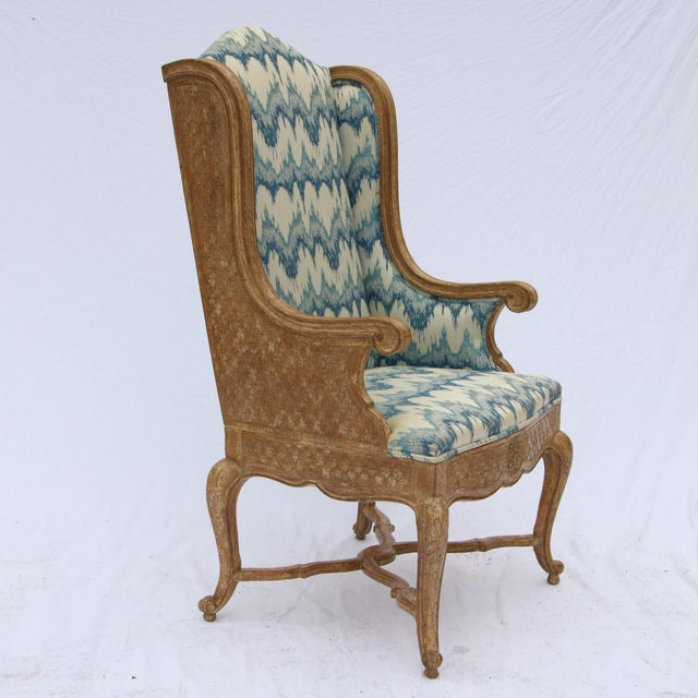 Robert Richter Wingback Chair - Image 4 of 11