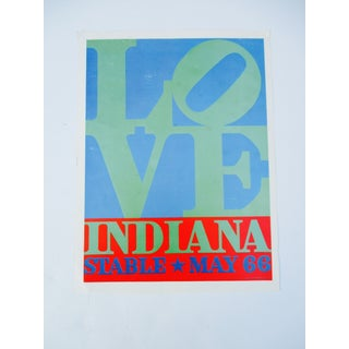 Love Indiana Stable, 1966 Poster