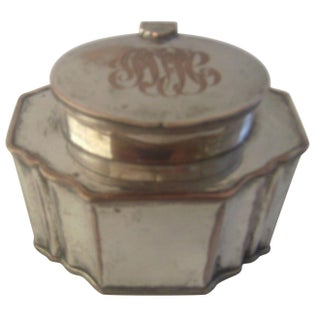 18th-19th Century Sheffield Plate Tea Caddy