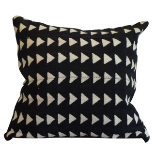 Triangle Pattern Mud Cloth Pillow