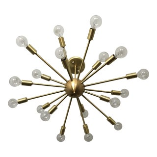 18-Arm Round Sputnik Light